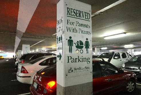 Parents with pram parking: What do you think?
