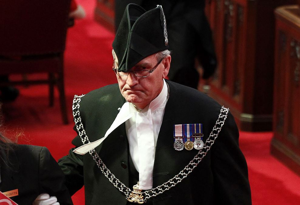 Sergeant-at-Arms Kevin Vickers is understood to have shot the gunman in Parliament