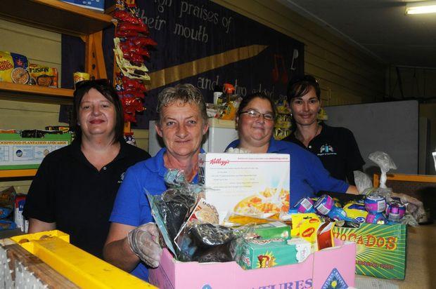 Angels of Somerset: Lisa Smith, Shaz Anderson, Alita Horrocks, Jasmine Braun, Photo Derek Barry / Gatton Star