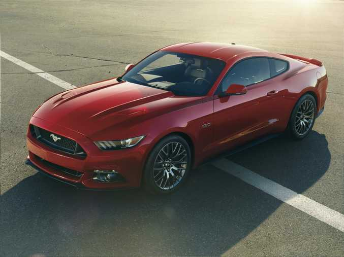 New Ford Mustang will come with 5.0-litre V8 or 2.3-litre four-cylinder EcoBoost engines