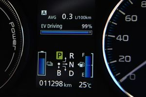 The fuel economy of the Mitsubishi Outlander PHEV.