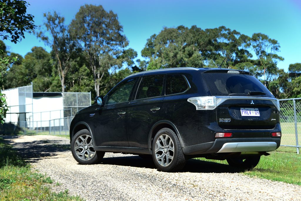 The Mitsubishi Outlander PHEV.