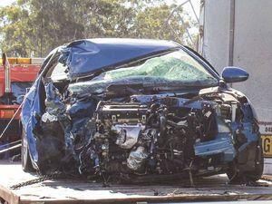 Crash victim fights for life
