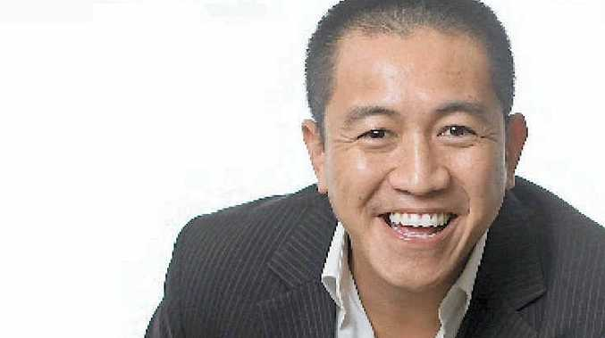 HAPPY LIFE: Much-loved stand-up comedian Anh Do is coming to Gladstone Entertainment and Convention Centre tonight.