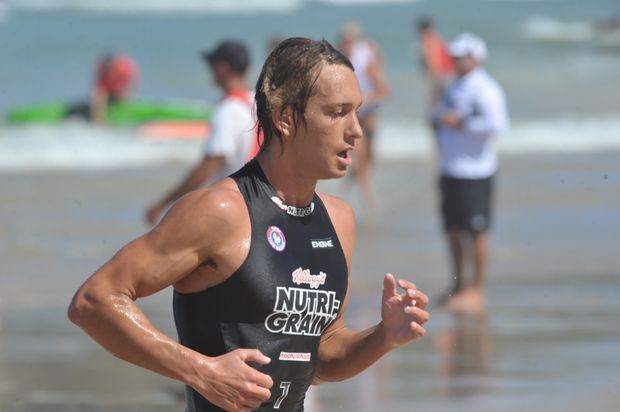 Ali Day competing at Coolum in 2012.