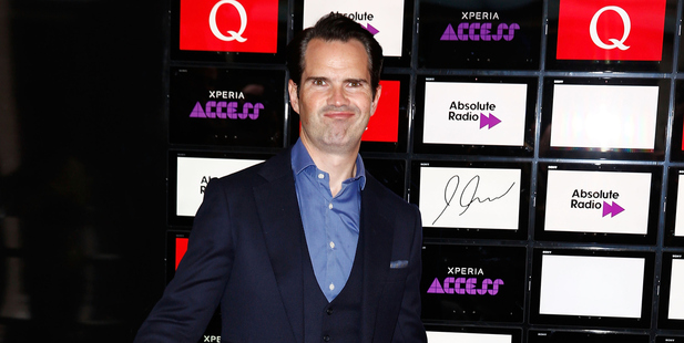 Jimmy Carr stunned crowds at the Q Awards with a controversial joke about Oscar Pistorius.
