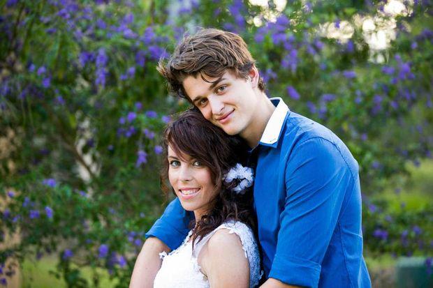 Kari-Lee and Tom Birrell married in December despite her battle her illness.
