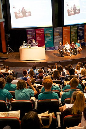 Southern Cross University's Coffs Harbour campus offered open house to senior high school students this week.