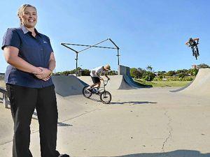 Ambassadors keep the peace at skate parks
