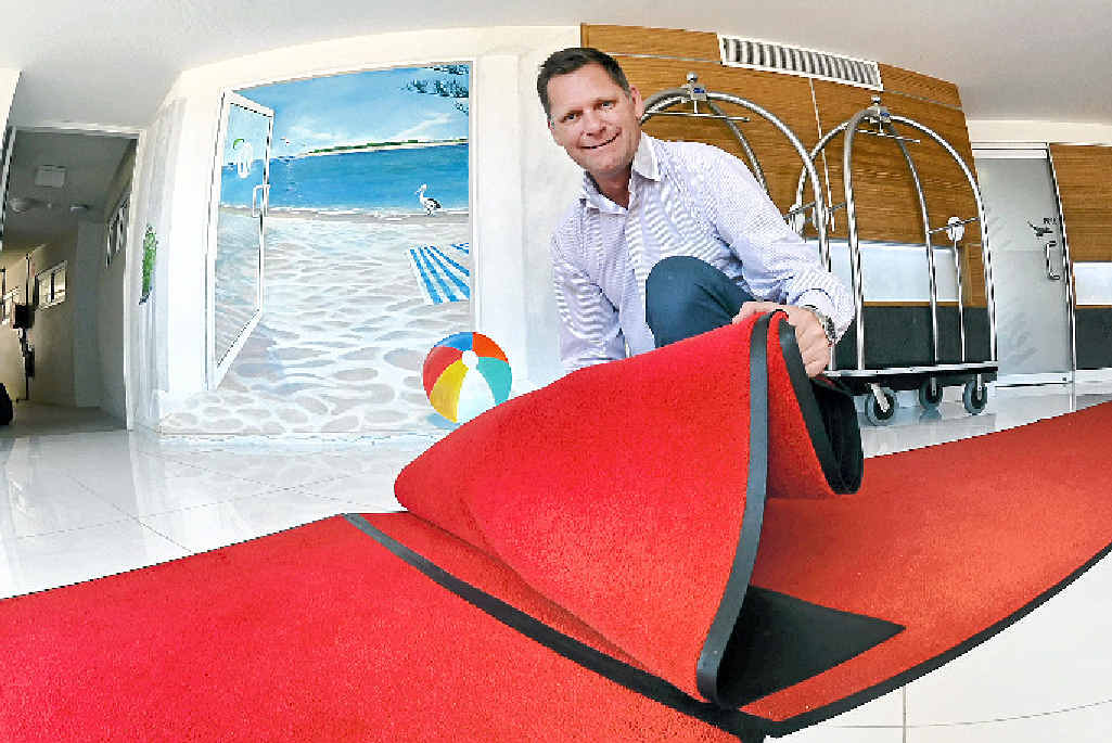 COAST CALLS: Rumba Resort director Bill Darby will roll out the welcome mat for the G20 weekend.