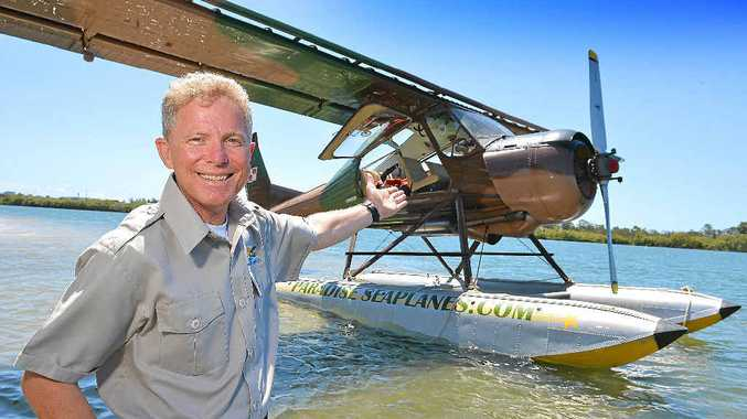 Chief pilot Shawn Kelly is optimistic about the potential of Paradise Seaplanes to take off on the Sunshine Coast.