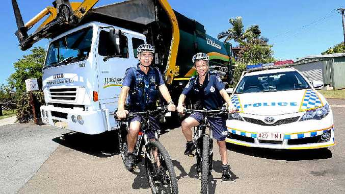 Nambour Police officers Tenniel Winterbourne (left) and Vanessa Page are ready to hit the streets on their new bikes.
