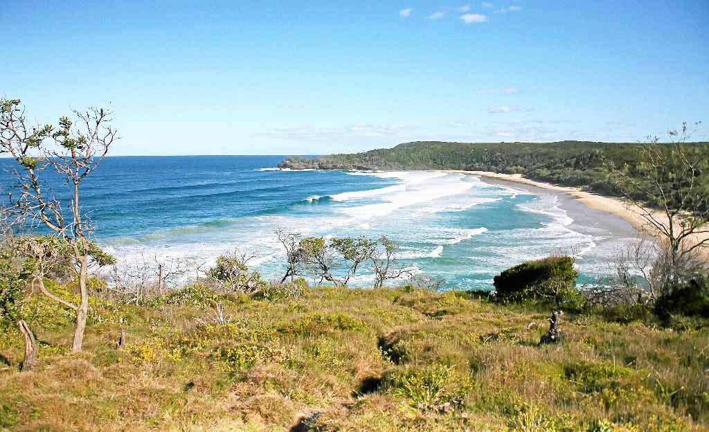 A-Bay is considered the Sunshine Coast's unofficial nudist spot.