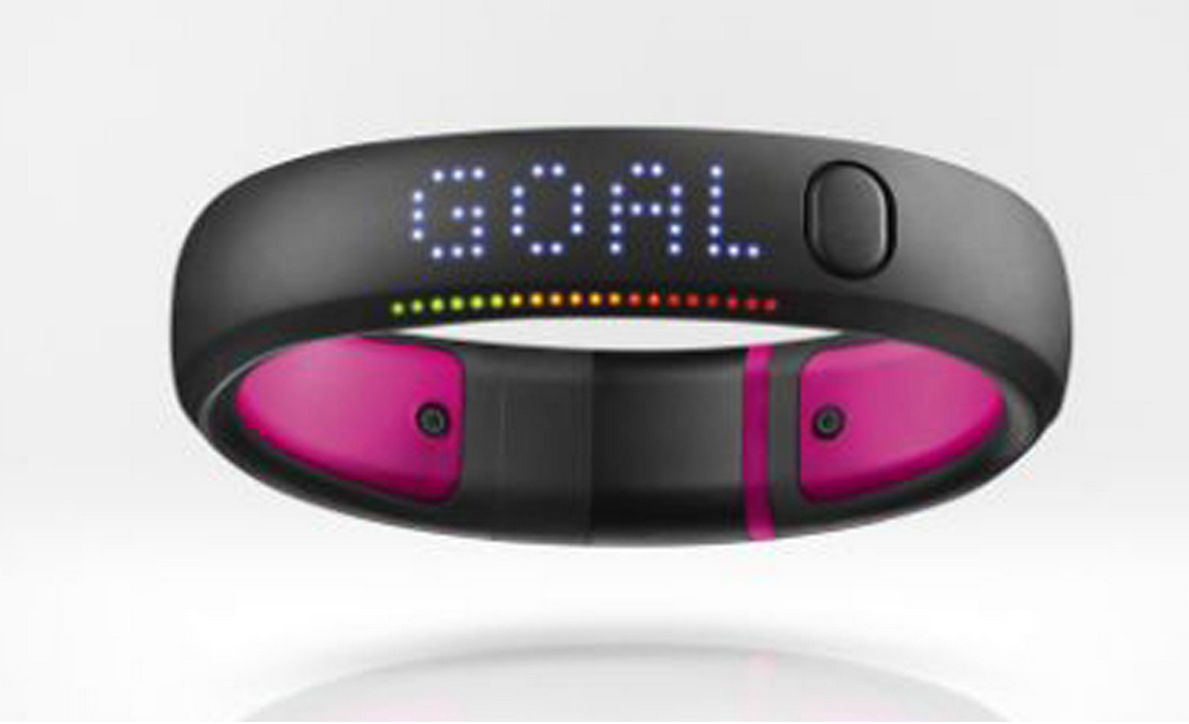 Nike CEO Mike Parker said he expected the wearable technology of the future to be