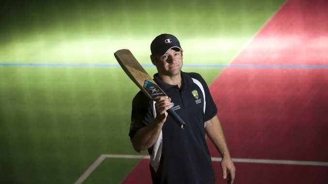 STATE SUCCESS: Toowoomba indoor cricketer Lyle Teske.