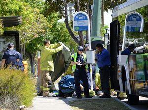 Hero bus driver saves life
