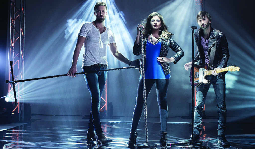 STAR POWER: Lady Antebellum will headline the CMC Rocks Qld country music festival at Willowbank Raceway next year.