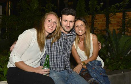 Marie Daix, Luke Maremmi and Manca Nodari at the Lightbox espresso and wine bar.