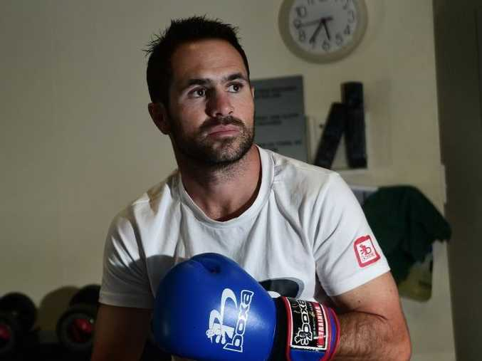 Boxer Brad Hore of Kawana is in training for his upcoming fight in Ipswich. Photo: Iain Curry / Sunshine Coast Daily
