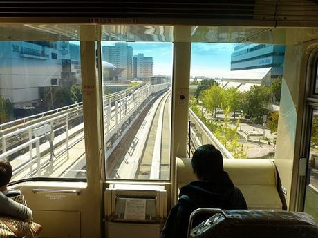 Light rail in Kyoto. Contributed