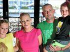 The Maher family: Taneisha, Claire, Chris and Nixsen at Kawana Waters Hotel.
