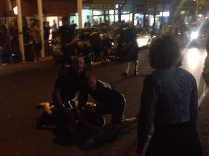VIDEO: Bouncers bash man, abuse woman after drunken strip
