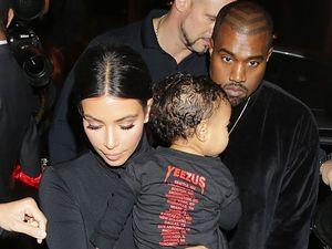 Kim and Kanye's daughter North West listens to iPod every day