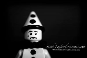 A big congratulations to Sarah Rickard for her Sad Clown shot, which received a