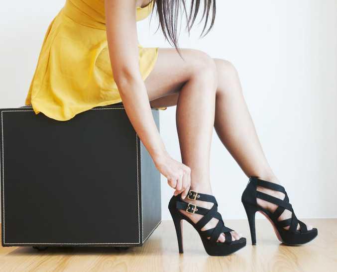 Need help? Try wearing heels, says study.