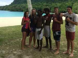 Kovacs's form a bond with Vanuatu