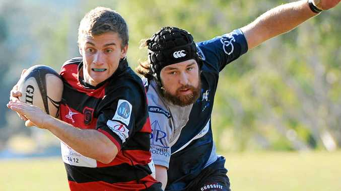 DESERVED: Coffs Rugby best and fairest Stu McVicar confirmed his quality with another excellent season.