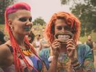 Dressing up for Falls Festival's New Year's Eve bash is a big part of the fun.