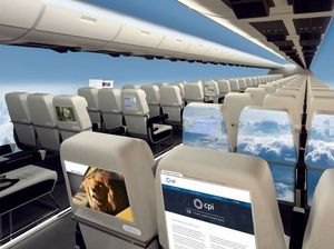 Windowless planes to hit skies within 10 years