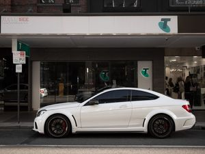 Insanely savage 2012 Mercedes-Benz C63 AMG Black Series