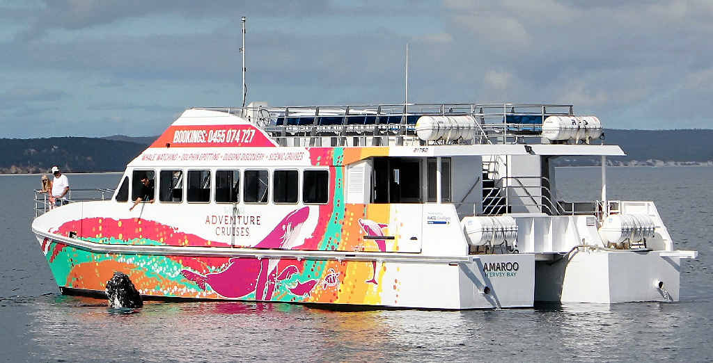 Cruise the Mary River aboard the Hervey Bay Boat Club's new vessel Amaroo.