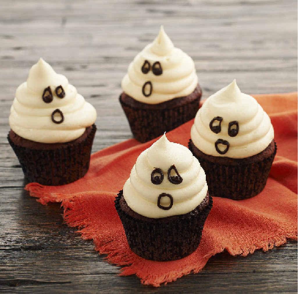 SPOOKY:  Halloween cupcakes