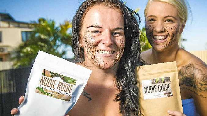 JUST THE JOB: Tara Apps is a big fan of Kristy Goodwin's organic body scrub Nudie Rudie.