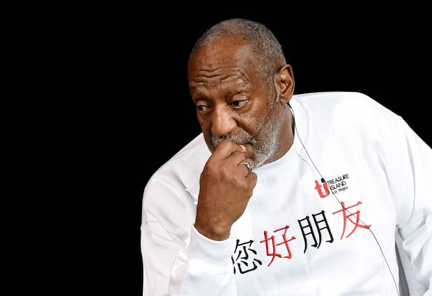 Entertainer Bill Cosby
