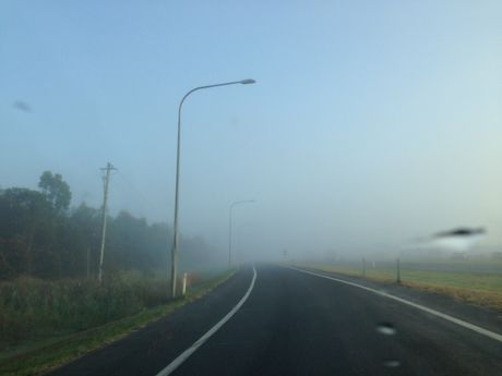 Fog at Caboolture.