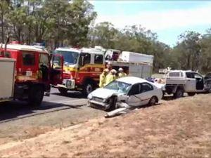Torbanlea Pialba Rd crash