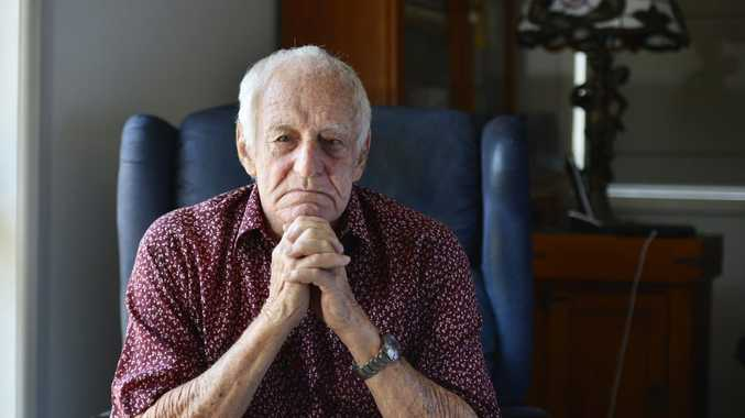 Tex Newberry has been attending Gladstone council meetings for years, and wants to see the number of councillors slashed.