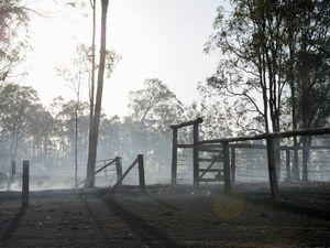 Bauple sugar cane fire destroys 180ha