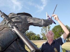 VIDEO: 'Idiots' vandalise new light horseman memorial