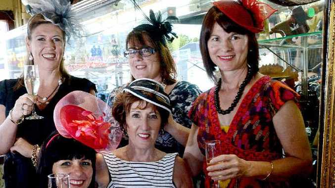 The planning committee for the Our Kids Melbourne Cup luncheon are looking forward to the event on Tuesday. From left, sitting: Rebekka Battista and Sharon Dowling. From back left: Sharryn Lee, Carmen Kennedy-Beaumont, and Helen Bailey.