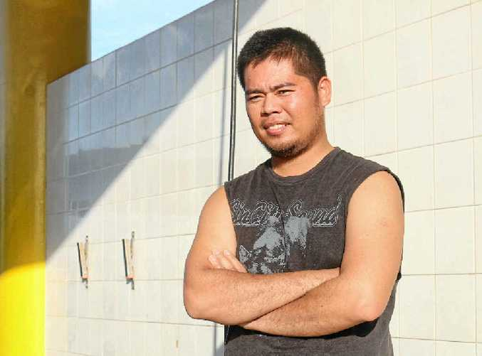HIGH HOPES: Rowel Panugaling wants more industries to come to Gladstone and bring local jobs with them.