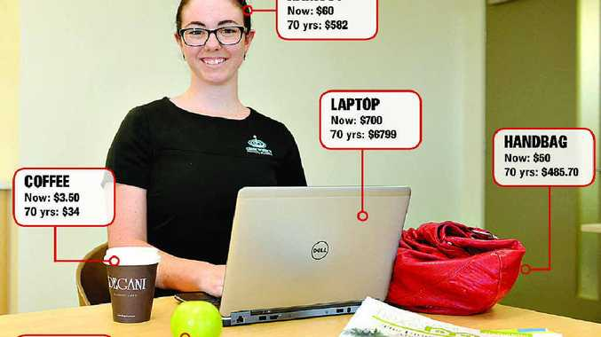 STATISTICS: Rockhampton's Tori Keating has an eye for constantly rising inflation figures.