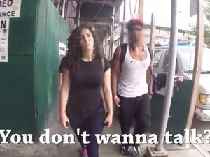 Viral street harassment video faces racism allegations