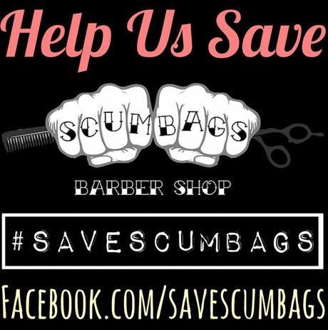 A campaign has been started to save Scumbags Barbershop