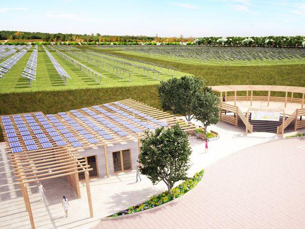The proposed solar farm in Valdora.