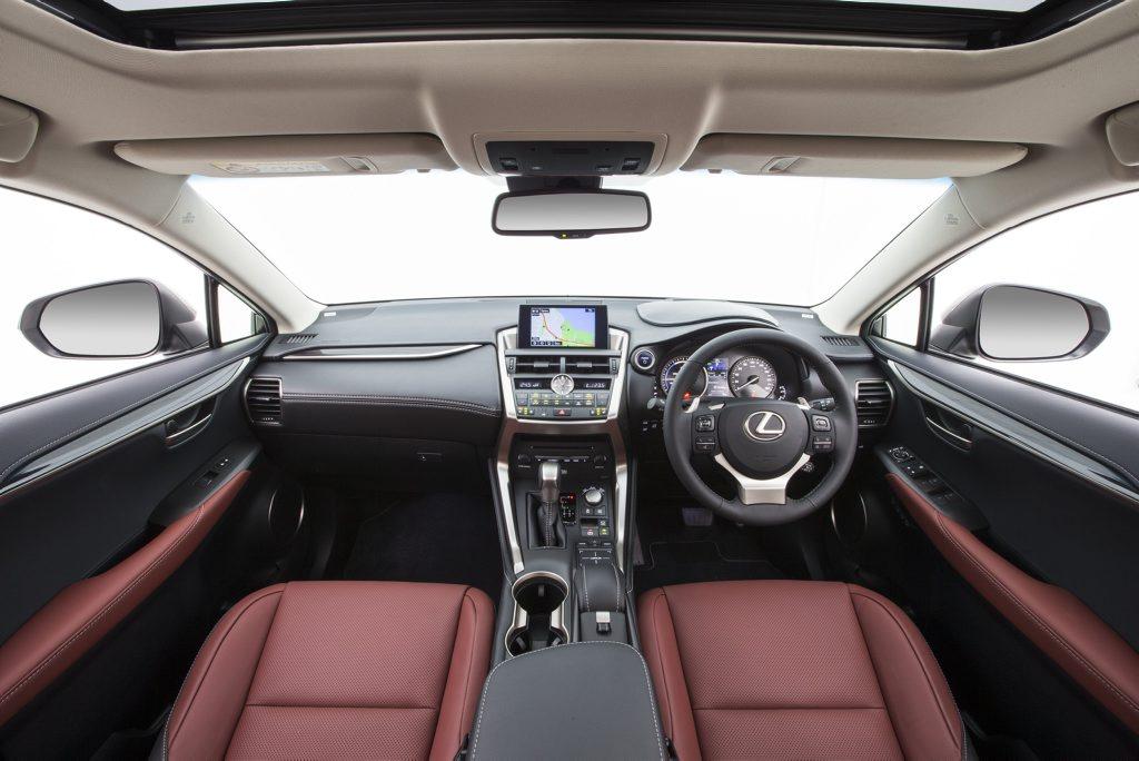 The 2014 Lexus NX 300h Sports Luxury.